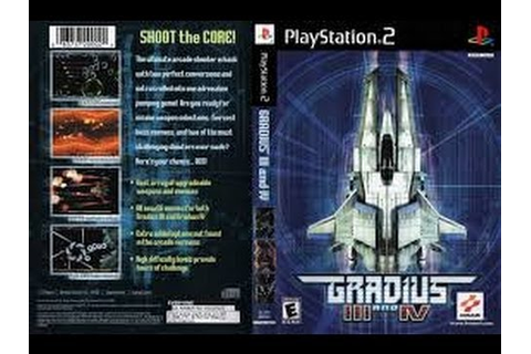 [PS2] Gradius III and IV Gameplay [PCSX2][1080p] HD - YouTube