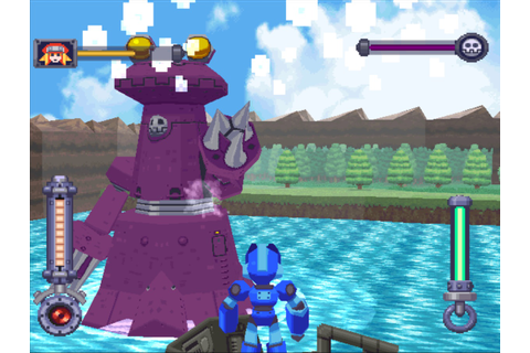 How do I recreate the graphics of Megaman Legends : gamedev