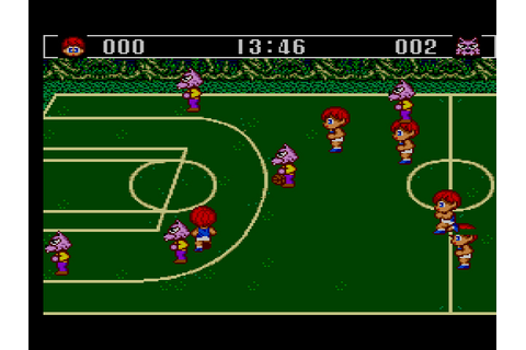 Basketball Nightmare / Master System / 1989 / Sega Does