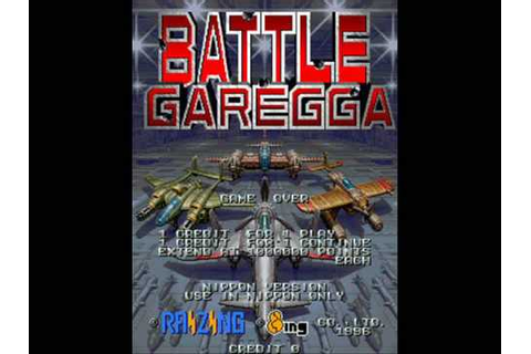 Battle Garegga Arcade Stage Seven Music - YouTube