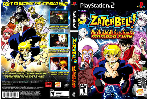 Zatch Bell: Mamodo Fury | Capas e Covers Gratis.