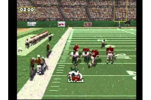 NFL GameDay '97 Playstation (Eagles vs 49ers) - YouTube