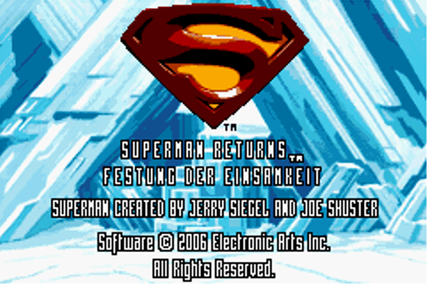 Play Superman Returns - Fortress of Solitude Nintendo Game ...