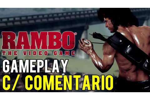 RAMBO - The Video Game (PS3) - GAMEPLAY (C/ COMENTARIO ...
