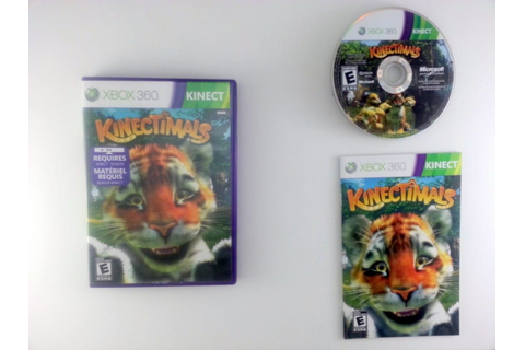 Kinectimals game for Xbox 360 (Complete) | The Game Guy