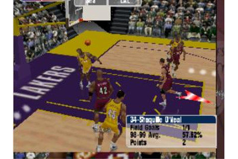 NBA Courtside 2: Featuring Kobe Bryant Nintendo 64 Game