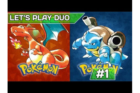 POKEMON ROUGE & BLEU - #1 | Let's play duo ! - YouTube