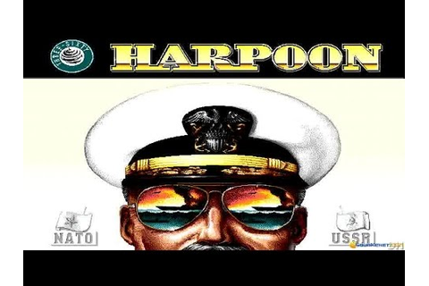 Harpoon gameplay (PC Game, 1989) - YouTube