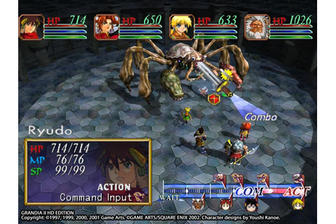 Grandia II HD Edition launches August 24 - Gematsu