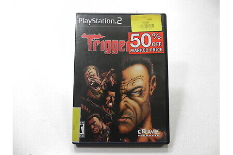 Trigger Man Sony PlayStation 2 PS2 Video Game 650008399233 ...
