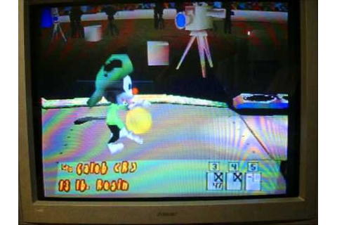 Animaniacs Ten Pin Alley Playstation 2nd Run Game 1 - YouTube