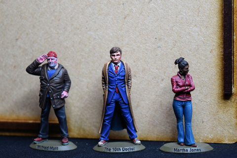 John's Toy Soldiers: The First New Doctor Who Miniatures