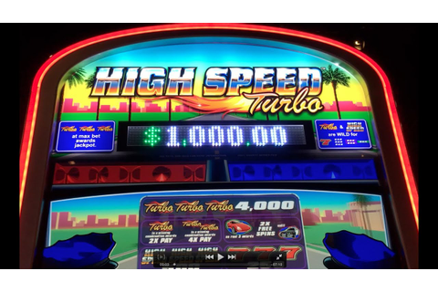 High Speed Turbo NEW GAME w BONUS & LIVE PLAY Slot Machine ...