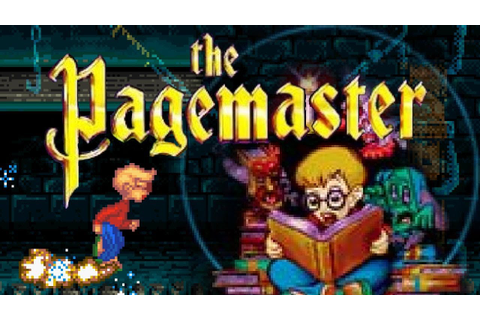 The Pagemaster (Sega Genesis) Game Playthrough Retro game ...