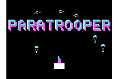 LGR - Paratrooper - PC Booter Game Review - YouTube