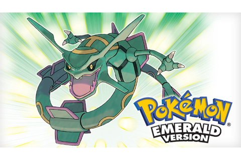 Pokémon Emerald Version | Pokémon Video Games