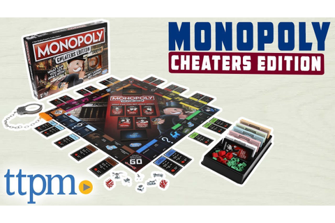 Monopoly Cheaters Edition Board Game - Rules and Review ...