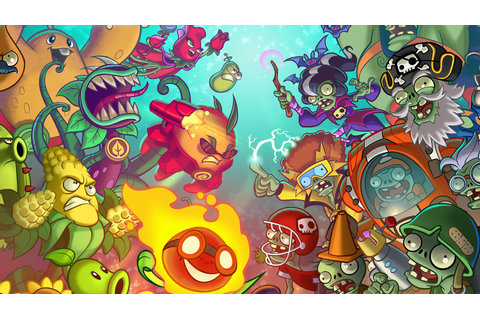 Plants vs. Zombies Heroes is a mobile collectible card game