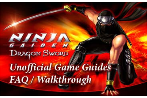 sephirosuy - Life is RPG: Ninja Gaiden Dragon Sword ...