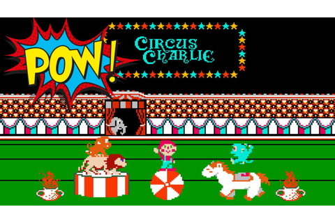 (RETRO GAME) Circus Charlie - NES - YouTube