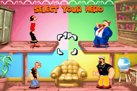 Popeye: Rush for Spinach Download Game | GameFabrique