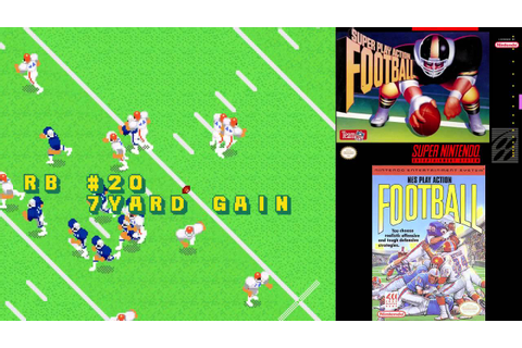 SNES A Day 75: Super Play Action Football - YouTube