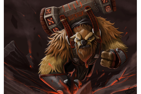 Earthshaker DOTA 2 by AlbertBear on DeviantArt