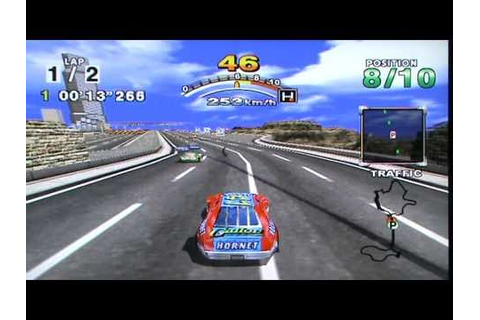 Oldschool game: Daytona USA 2001 - Dreamcast. - YouTube