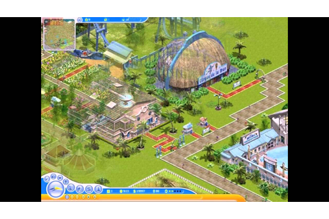 SeaWorld Adventure Parks Tycoon 2 PC 2005 Gameplay - YouTube