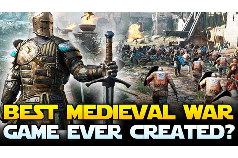 BEST MEDIEVAL WAR GAME EVER? For Honor Multiplayer Beta ...