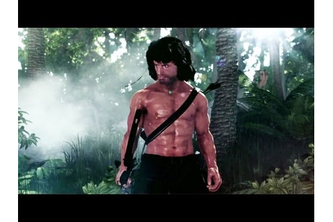 Rambo The Video Game Official Trailer - YouTube