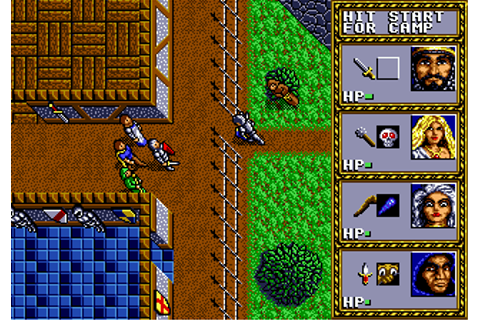 Play Dungeons & Dragons - Warriors of the Eternal Sun Sega ...
