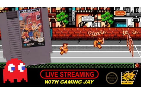Crash 'n' the Boys: Street Challenge (NES) - So Many ...