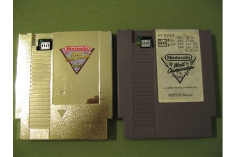 Gold Nintendo World Championships Sells for $17,500 ...