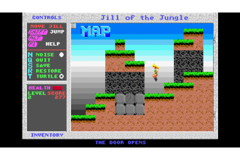 Jill of the Jungle Ep. 1 (PC MS-DOS, 1992) (Longplay ...