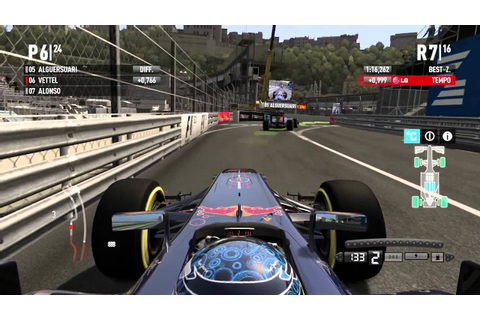 F1 2011 Gameplay Monaco HD (PC) + Safetycar + 20% Race ...