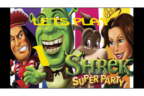 Lets Play Shrek Super Party Part 1 Bug Juice - YouTube
