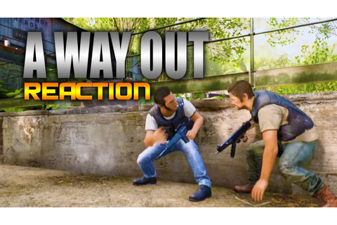 A Way Out Gameplay Trailer Reaction (AWESOME New Game ...