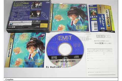 Emit Vol.1 ~Toki no Maigo~ Sega Saturn | Japan | T-7602G ...