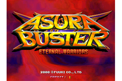 Asura Buster: Eternal Warriors, Arcade Video game by Fuuki ...
