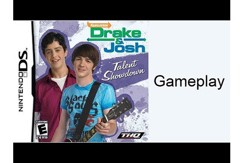 Drake and Josh Talent Showdown (DS) Gameplay - YouTube