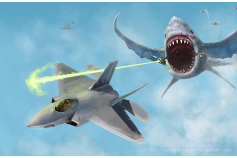 """Flying Sharks"" by Surfsideaaron on Newgrounds"