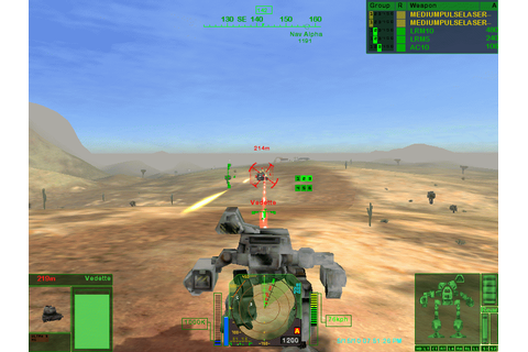 MechWarrior 4: Mercenaries (2002) by Cyberlore Studios ...
