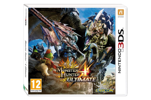 Monster Hunter 4 3DS Game