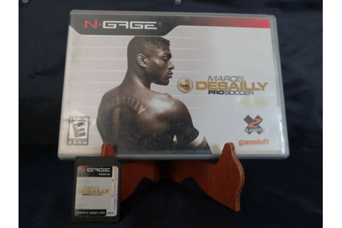 Marcel Desailly Pro Soccer (N-Gage, 2004) for sale online ...