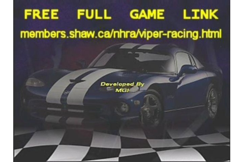 Viper Racing game on Vimeo