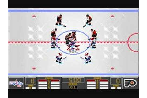 NHL 95 PC - Gameplay part 1 of 3 - YouTube