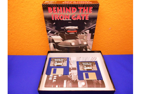 Behind The Iron Gate Software Computer Spiel Disketten -KuSeRa