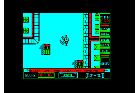 Street Hawk (1986)(Ocean Software) - ROMs Amstrad CPC ...