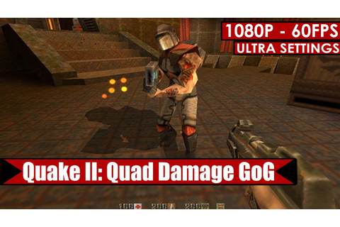 Quake II: Quad Damage GoG gameplay PC HD [1080p/60fps ...